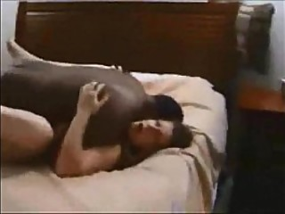 Curvy wife creampied by black stud
