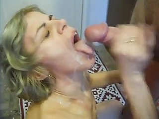 Married cougar jizzed